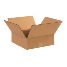 12 x 12 x 4 Flat Corrugated Boxes, 12124