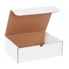 12 1/8 x 9 1/4 x 4 White Literature Mailer, M1294
