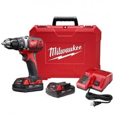 M18 Compact 1/2 Inch Drill Driver Kit, 2606-22CT