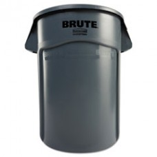 Brute Vented Trash Receptacle, RCP 264360GY