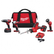 M18 Cordless LITHIUM-ION 4 Tool Combo Kit, 2695-24