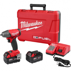 M18 FUEL 3/8 Inch Compact Impact Wrench with Friction Ring Kit, 2754-22