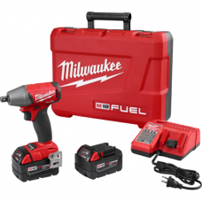 M18 FUEL 1/2 Inch Compact Impact Wrench with Pin Detent Kit, 2755-22