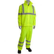 ANSI Type R Class 3 Two-Piece Value Rainsuit Set, 353-1000
