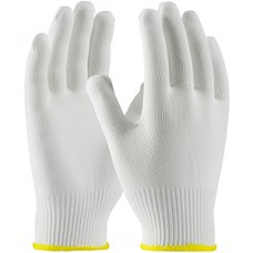 CleanTeam Light Weight Seamless Knit Polyester Clean Environment Gloves, 40-C2130