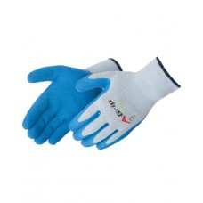 A-Grip Premium Textured Blue Latex Palm Coated Gloves, 4700