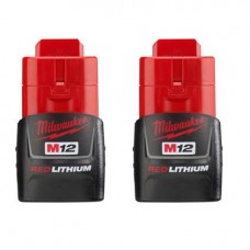 M12 REDLITHIUM Compact Battery Two Pack, 48-11-2411