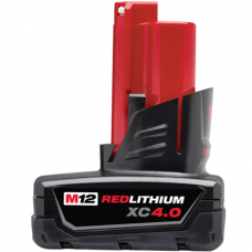 M12 REDLITHIUM XC 4.0 Extended Capacity Battery Pack, 48-11-2440