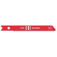 2 3/4 Inch 14 TPI High Speed Steel Jig Saw Blade, 5 Pack, 48-42-0101