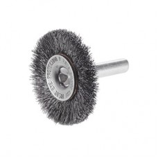 Crimped Wire Wheel Brush with Shank, 60170