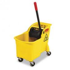 Tandem 31 Quart Bucket/Wringer Combo, RCP 7380