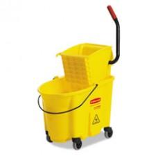 WaveBrake 35 Quart Bucket/Wringer Combination, RCP758088YW