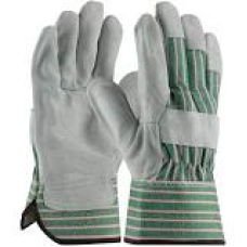 """B"" Grade Shoulder Split Cowhide Leather Palm Gloves, 83-6563"