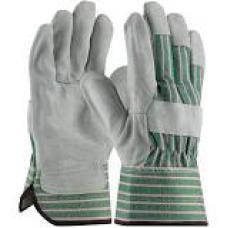"""""""B"""" Grade Shoulder Split Cowhide Leather Palm Gloves, 83-6563"""