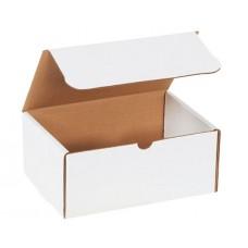 9 x 6 1/4 x 4 White Literature Mailers, M964