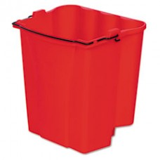 Dirty Water Bucket for WaveBrake Bucket/Wringer, RCP9C74RED
