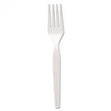 Heavy Mediumweight Plastic Forks, DXEFM217