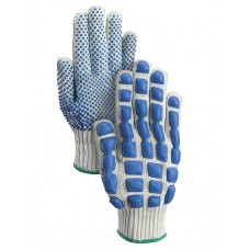 SMARTSHELL Cotton PVC Dot Gloves, BK199