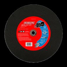 12 Inch Metal High Speed Cut-Off Disc, 1 Inch, DBD120125A01F