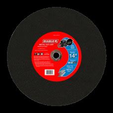 14 Inch Metal High Speed Cut-Off Disc, 1 Inch, DBD140125A01F