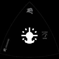 3 1/8 Inch Universal Fit Oscillating Sanding Pad, DOUSAND