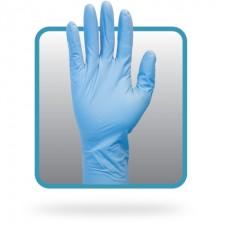 12 Inch Powder Free Blue Nitrile Gloves, GNPL-5-T8