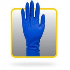 12 Inch Powder Free Blue Latex Gloves, GRHL-5M-P