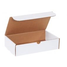 11 x 6 1/2 x 2 3/4 White Literature Mailers, M1162