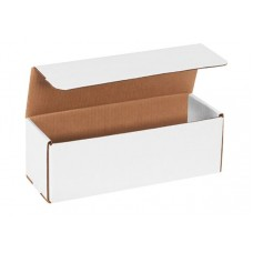 12 x 4 x 4 White Corrugated Mailers, M1244