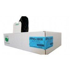Black LD Individually Folded Can Liners, PPK3-32H