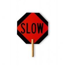 18 Inch Aluminum Stop/Slow Paddle, TD 18018-SS-HI