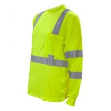 Cor-Brite Long Sleeve Safety Shirt, V511